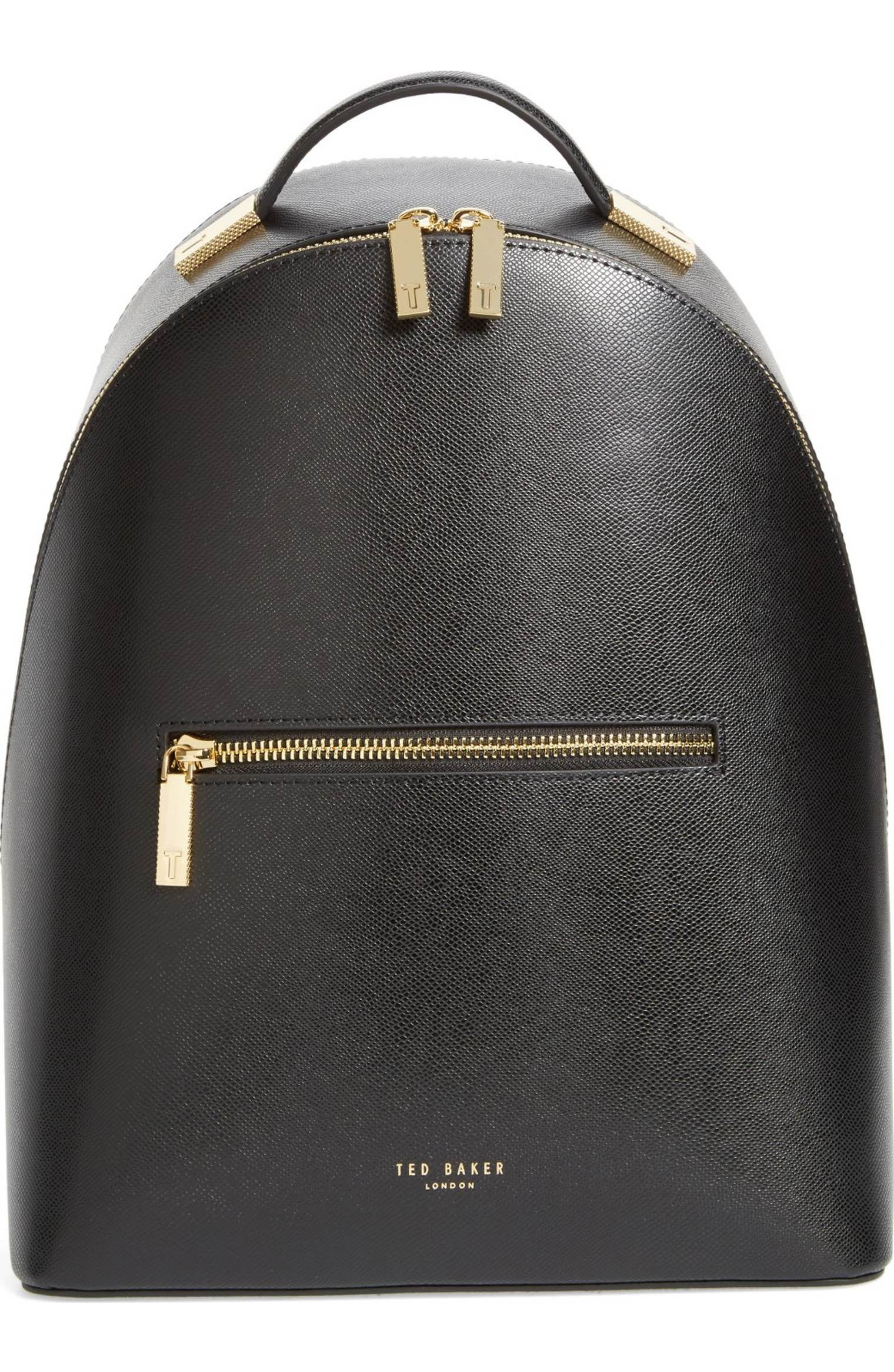 b40bdfb40 Main Image - Ted Baker London Mini Jarvis Leather Backpack