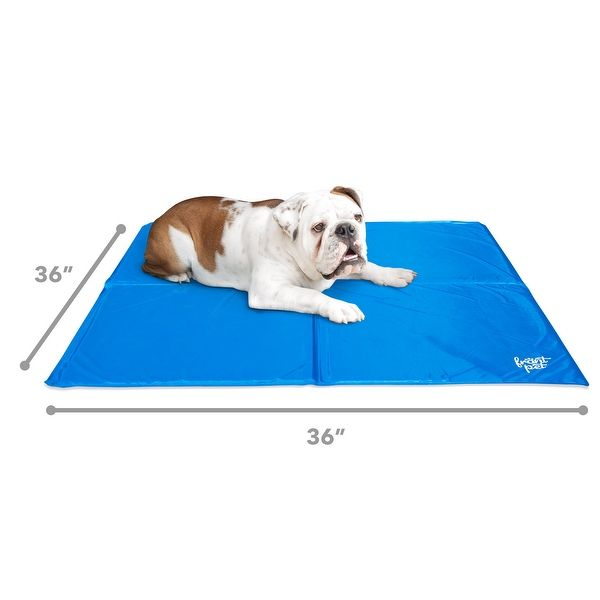 Frontpet Self Cooling Gel Mat Pad Extra Large For Dogs Non Toxic 36 Inch X 36inch Dog Cooling Mat Cooling Mat For Dogs With Images Dog Cooling Mat Pet Cooling