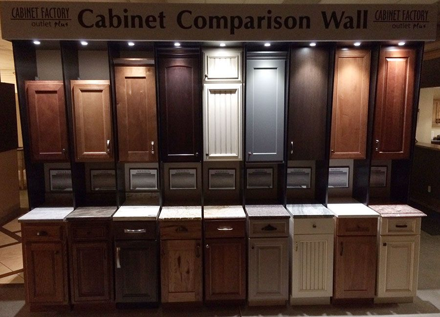 cabinet camparison wall | chip and Joanna Gaines | Kitchen ...