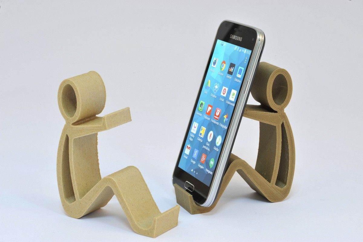 phone stand more werkstatt pinterest handyhalter dekupiers ge und holz. Black Bedroom Furniture Sets. Home Design Ideas