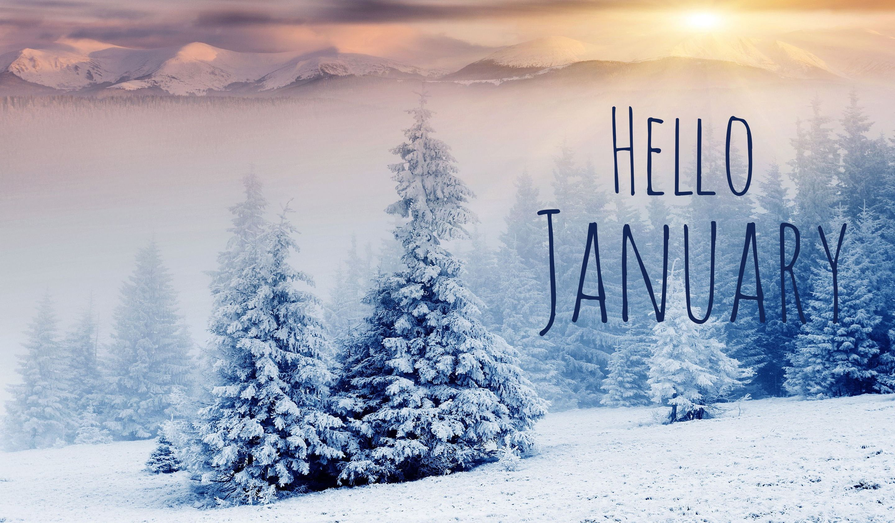Hello January Images Free Download With Images January