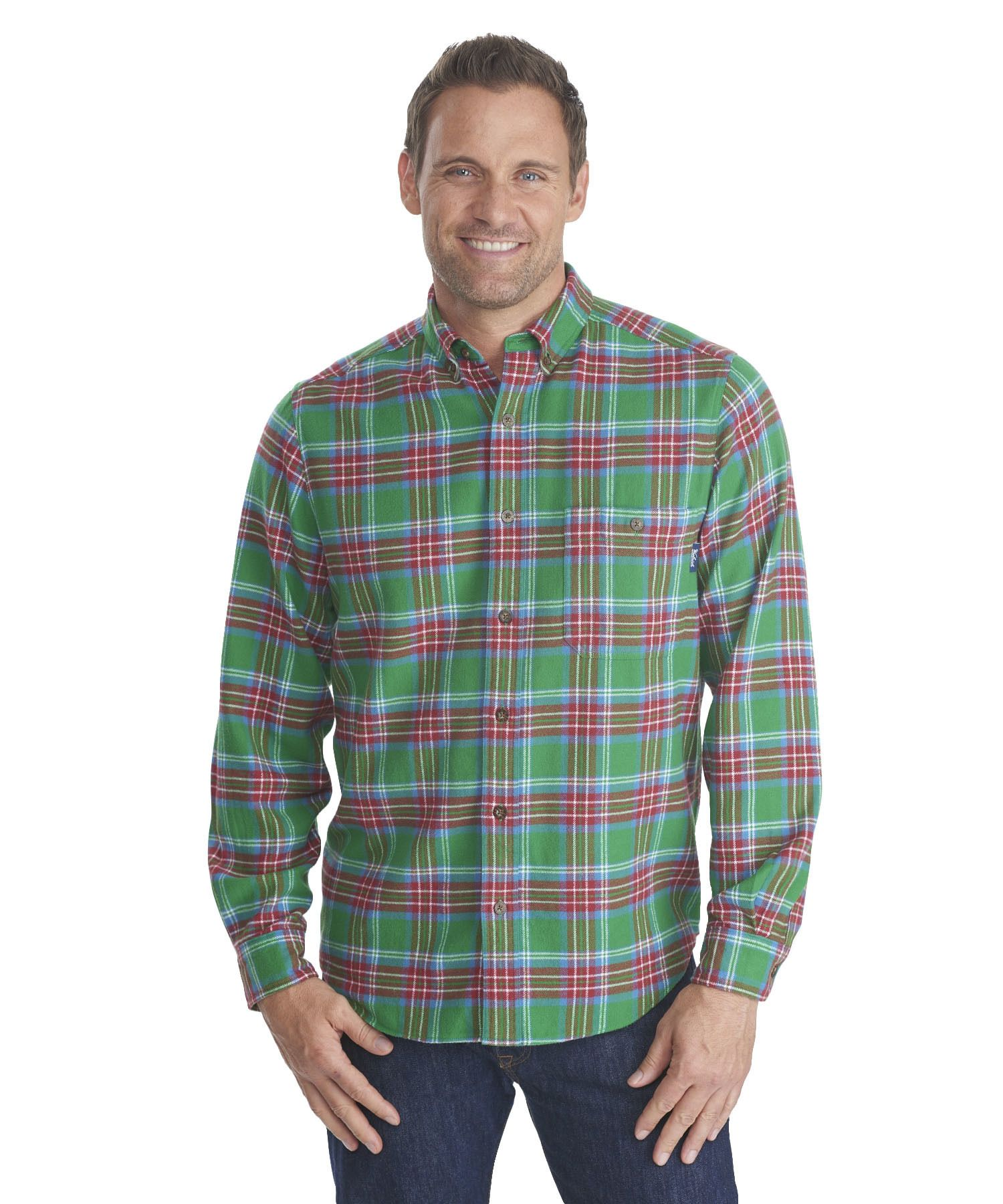 4d422614e Men's Trout Run Flannel Shirt for Dogfish Head Brewery by WOOLRICH® The  Original Outdoor Clothing Company
