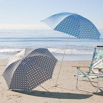Double Dot Beach Umbrella