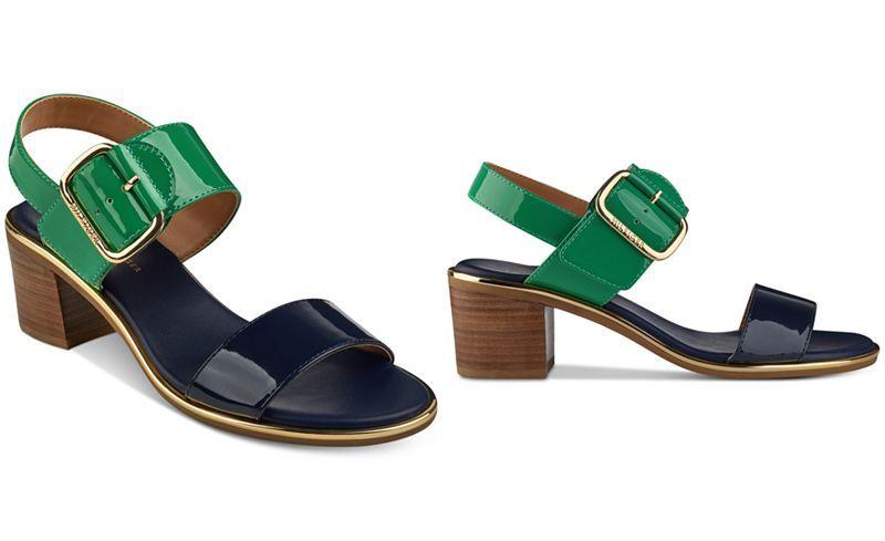 6cb5fec6841 Tommy Hilfiger Katz Block-Heel Dress Sandals - Heels - Shoes - Macy s
