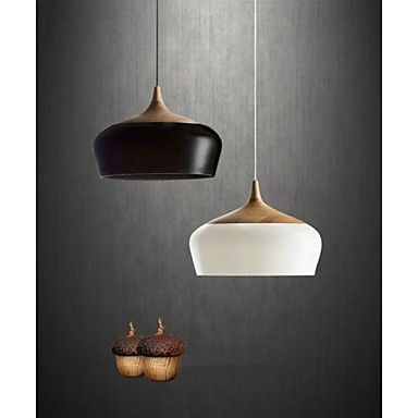 Pendant Light , Modern/Contemporary Others Feature for LED Wood ...