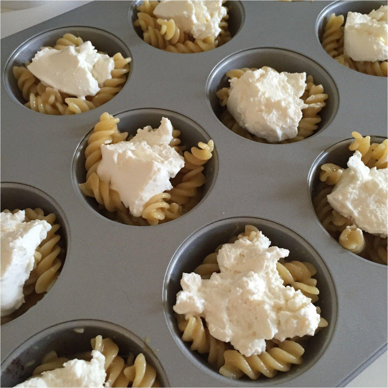 Lasagne muffins med tre slags ost | Nanna Pretzmann
