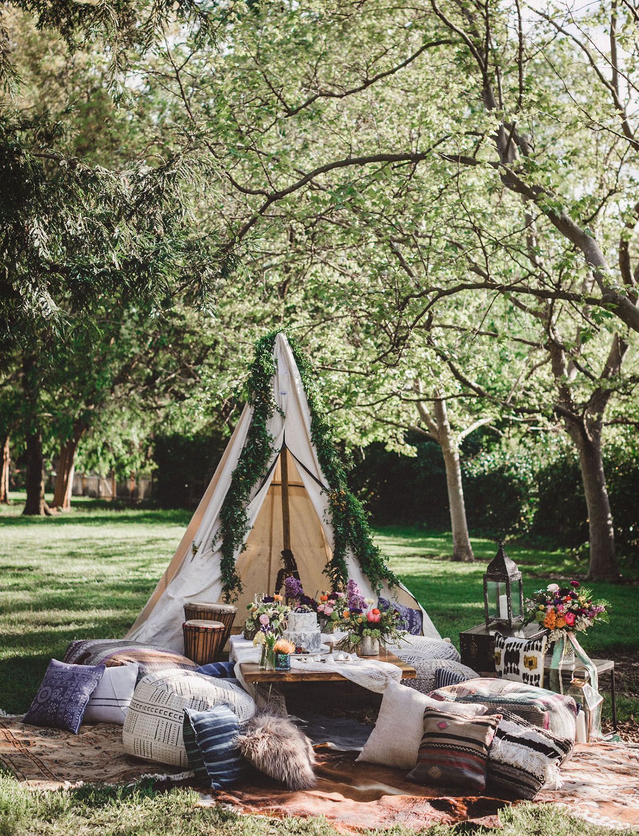 b6cf01f8dd3 For the Bride-To-Be  A Woodsy Festival-Inspired Bridal Shower ...