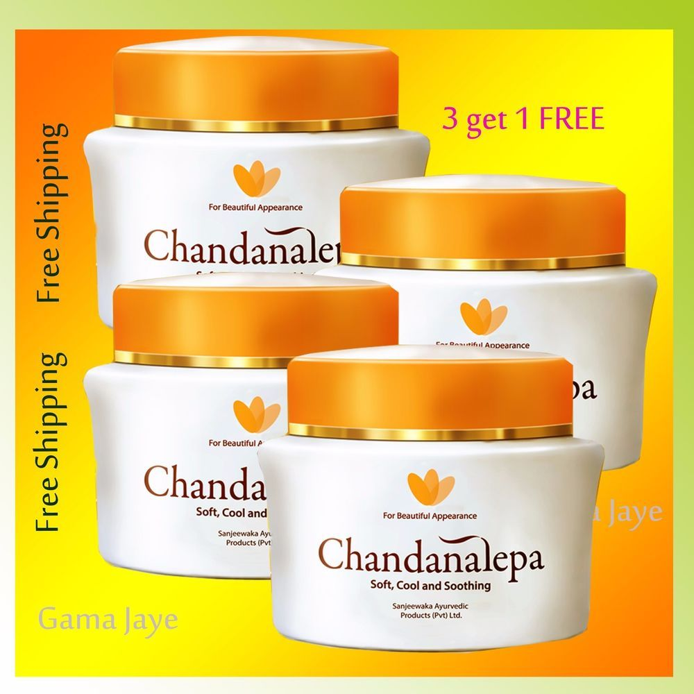 Details About Natural Ayurveda Herbal Skin Care Cream