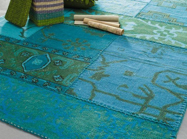 Tapis Bleu Turquoise Maisons Du Monde | salon bleu | Pinterest ...