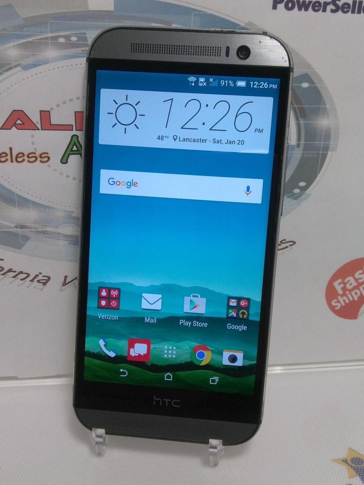 HTC One M8 - 32GB - Gunmetal Gray (Verizon/Unlock)Android