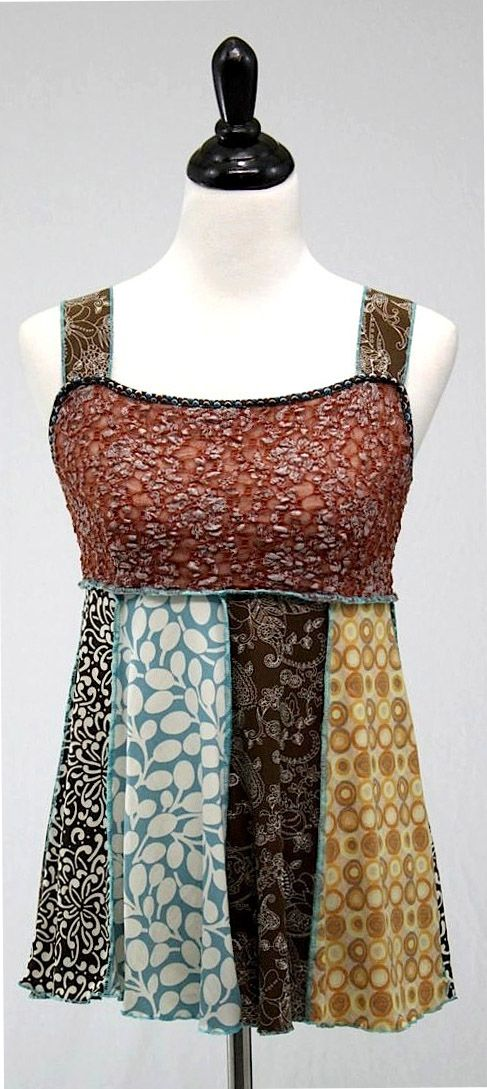 Hand Jive Wear Art Hey Jude Tank- I love these designers- always flattering and funky!