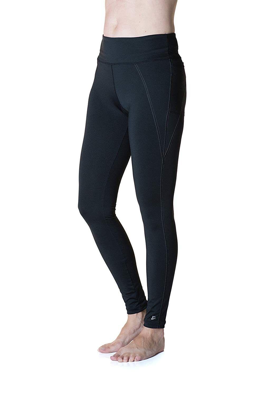 Women's Triple Pocket Tight - Black - CU12NZT8UH6 - Sports & Fitness Clothing, Women, Tights & Leggi...