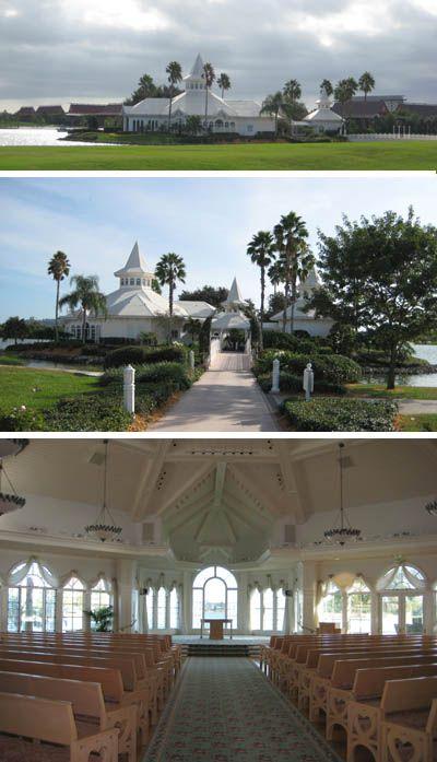 Disney Wedding Pavilion At Walt World In Orlando Florida
