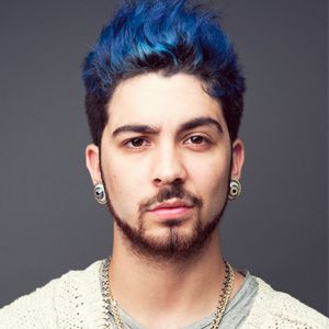 Adeen Duran Rembrandt Blue Tips Hair Beauty Hair Color Men