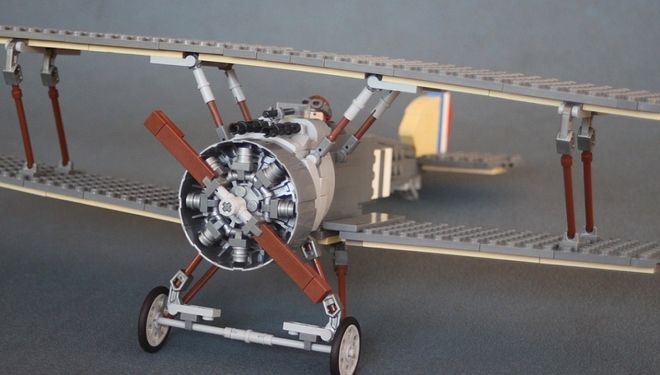 The iconic Sopwith Camel was so named because of the 'hump' created by the gun breech covering its twin Vickers machine guns. While its predecessor, the Pup, was a docile mach...