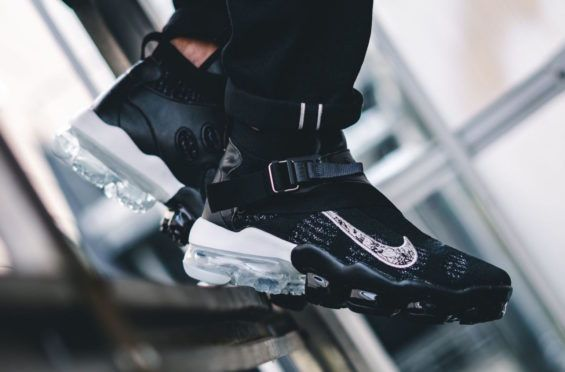 low priced 547eb b6f7c The Nike Air VaporMax Premier Flyknit Black Metallic Is Now Available The  next rendition of the