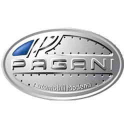 Pagani Automobili Modena 55 Employees Founded In 1992 By Horacio Pagani And The Maker Of The Pagani Zonda Currently The F Pagani Car Car Logos Pagani