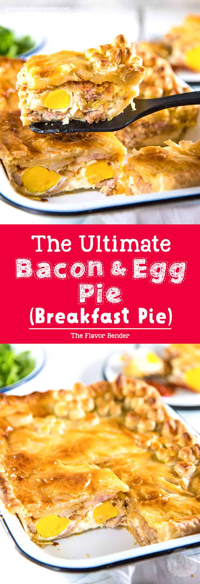 Ultimate Bacon And Egg Pies Breakfast Pies Are A New Zealand Classic With Smokey Bacon And Eggs Breakfast Pie Breakfast Brunch Recipes Breakfast Recipes Easy