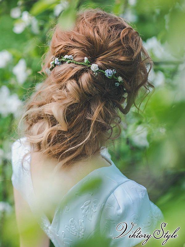 Свадебная прическа на длинные волосы Свадебные стилисты ...