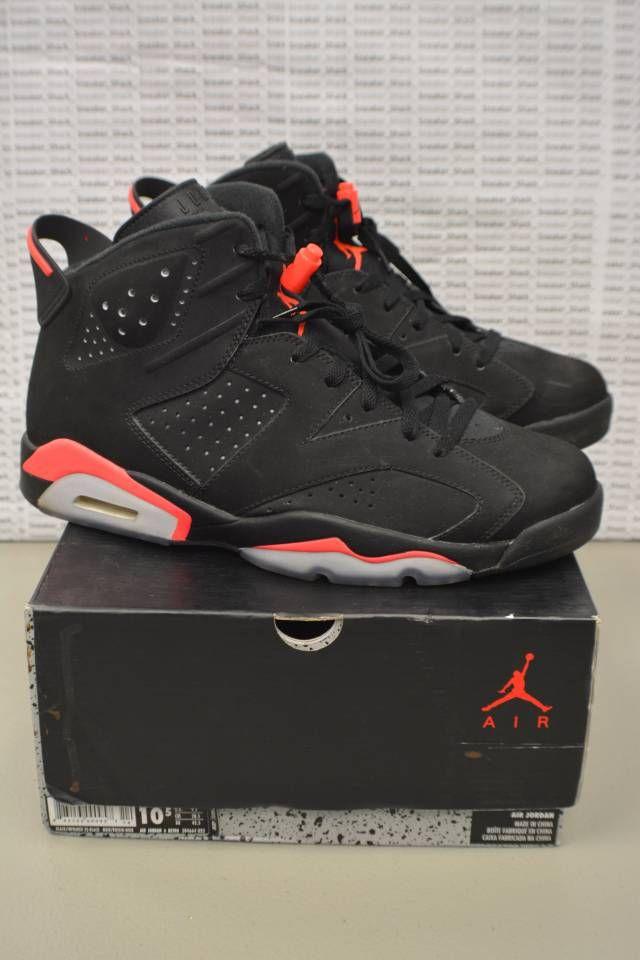 Nike Air Jordan Retro 6 Black Infrared