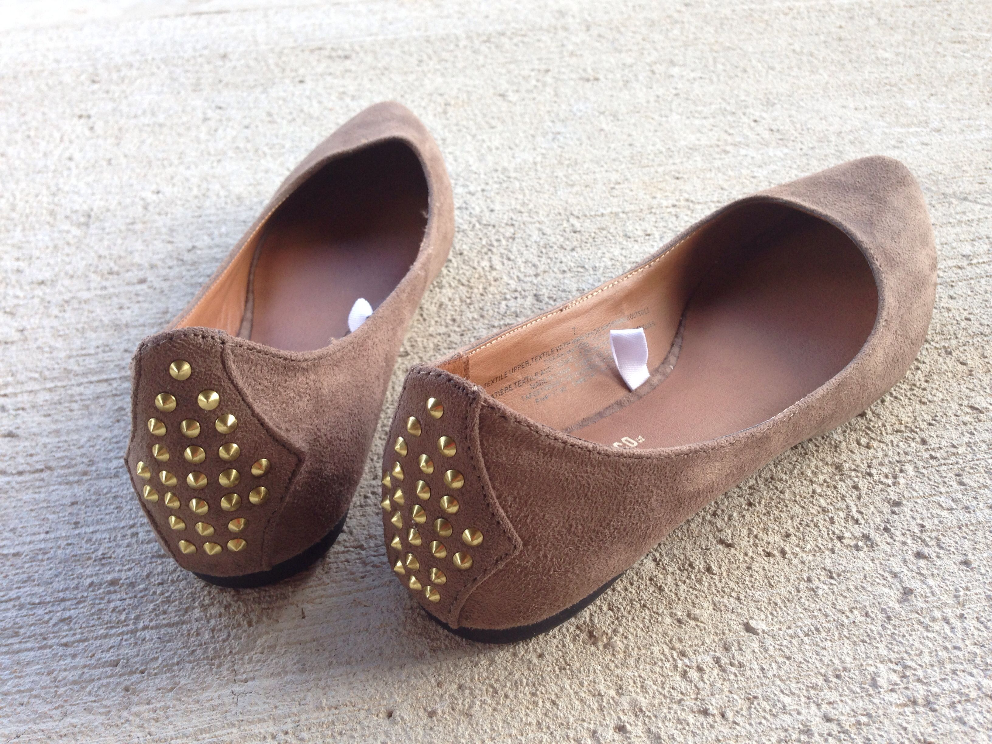 Spiked flats. Photo by ThePixie