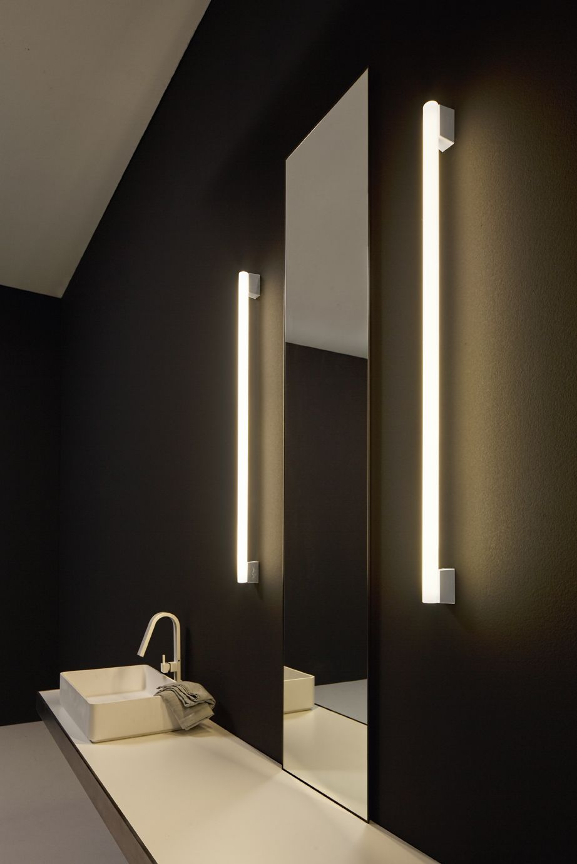 Vesoi Srl Striplinled Immagine 2 Bathroom Light Fixtures Modern Bathroom Renovations Bathroom Design
