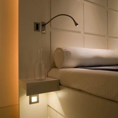 LED Adjustable Bedside Reading Light