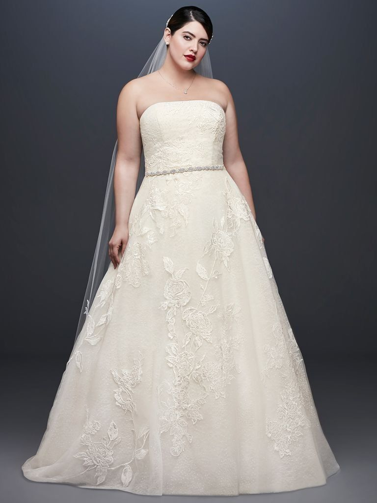 d3e53b226ff5 Oleg Cassini at David's Bridal Spring 2019: Regal, Romantic Gowns for the  Classic Bride | TheKnot.com