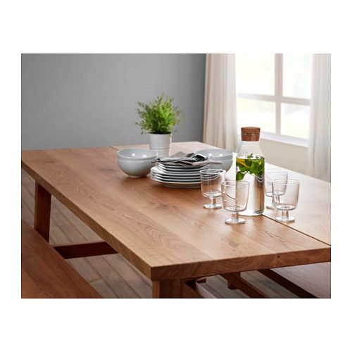 Kitchen Table Top Material: MÖCKELBY Table, Oak