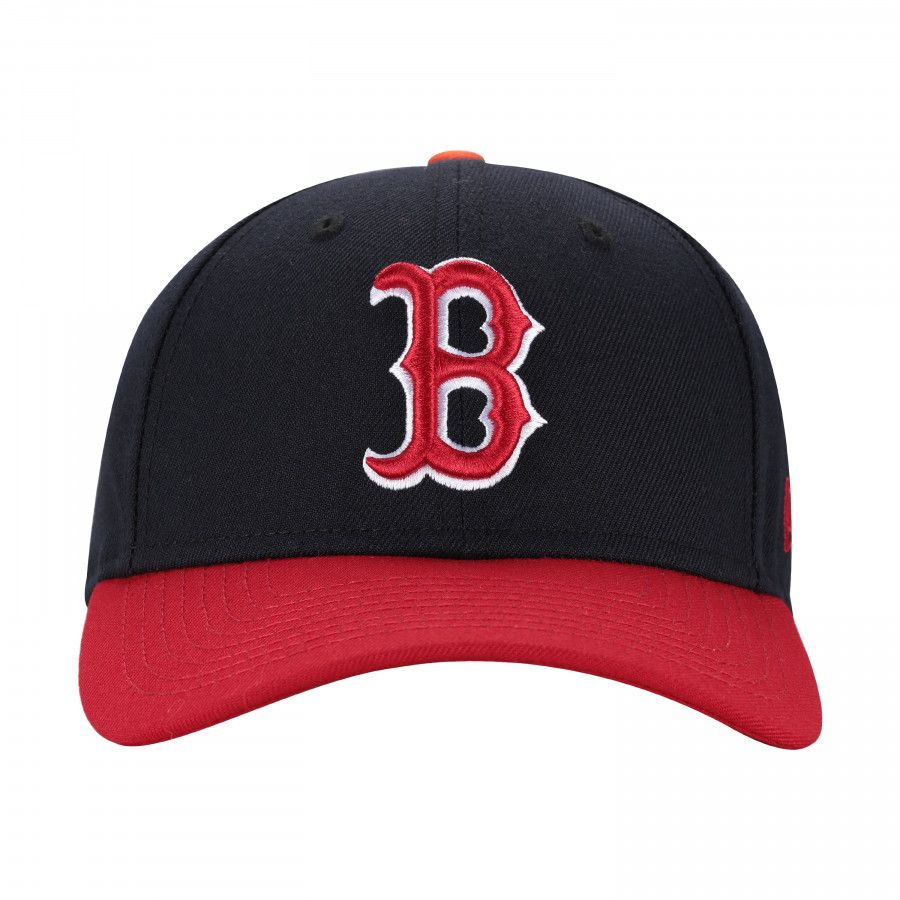 Boné Aba Curva New Era 940 Boston Red Sox SN Team Color - Snapback ... 6afba39dc3e