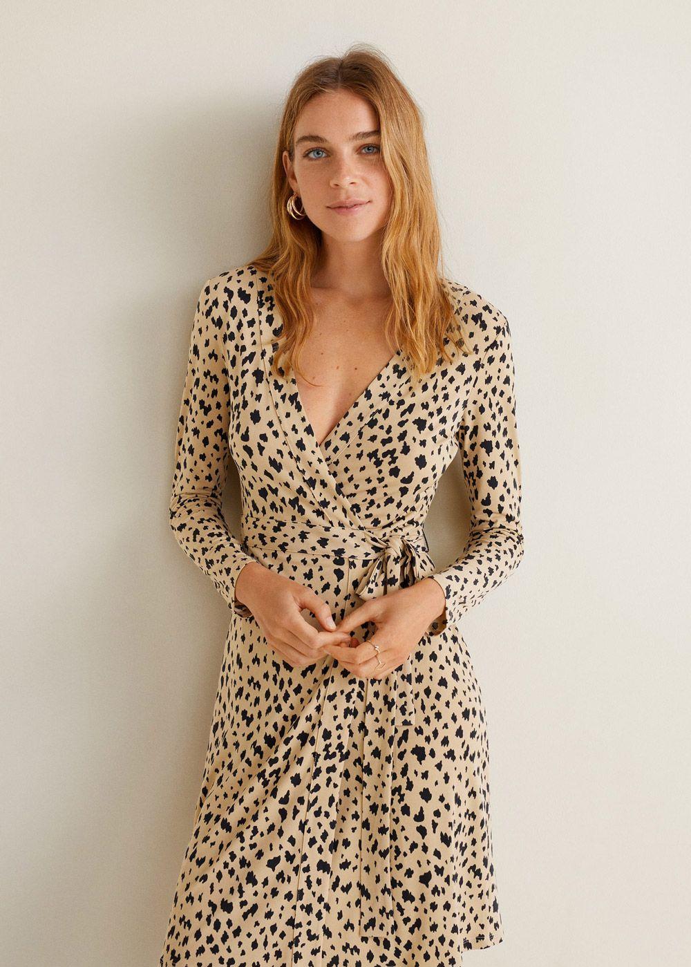 bdf9adc7679e Mini haljine za jesensku garderobu iz high street kolekcija. Mini haljine  za jesensku garderobu iz high street kolekcija Animal Print ...