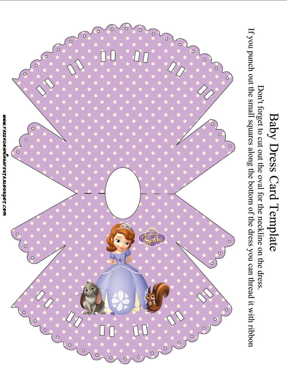 Princess Sofia The First Party Invitations Free Printables