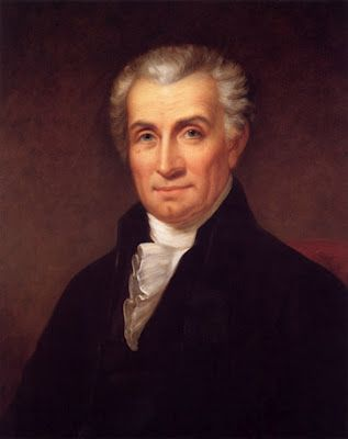 James Monroe, US president (1817-1825) by Rembrandt Peale about 1824-1825