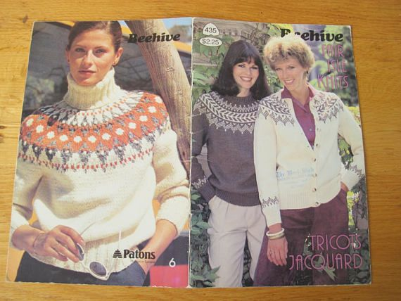Patons Beehive Fair Isle Knits Knits / Nordic Style Chunky ...