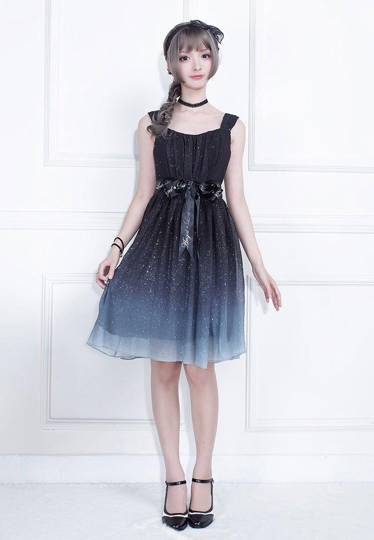 37ebd027cc3c Lost Angel -Starry Night- Lolita OP Dress in 2019