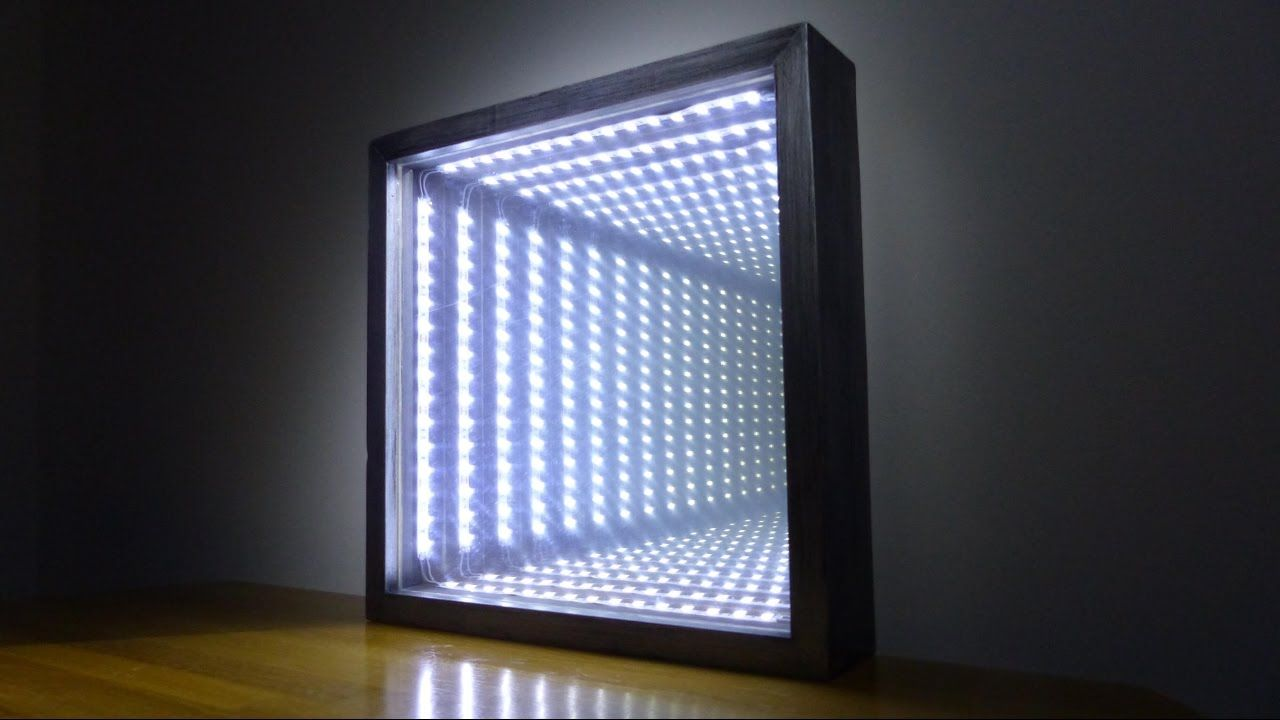 How to Make an Led Infinity Illusion Mirror YouTube