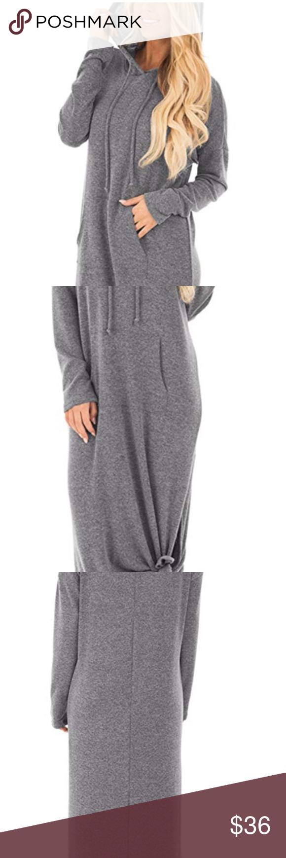 Casual Pockets Hoodies Summer Sleeve Split Hooded Hoodie Sweatshirt Dress Sweatshirt Dress Trendy Sweatshirt [ 1740 x 580 Pixel ]
