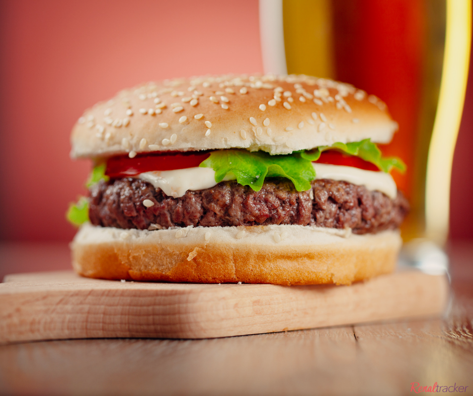 can i have hamburger on renal diet