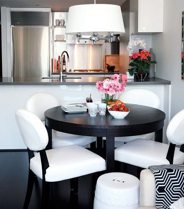 20 Small Dining Room Ideas On A Budget: 25 Stunning Modern Apartment Decor #apartment