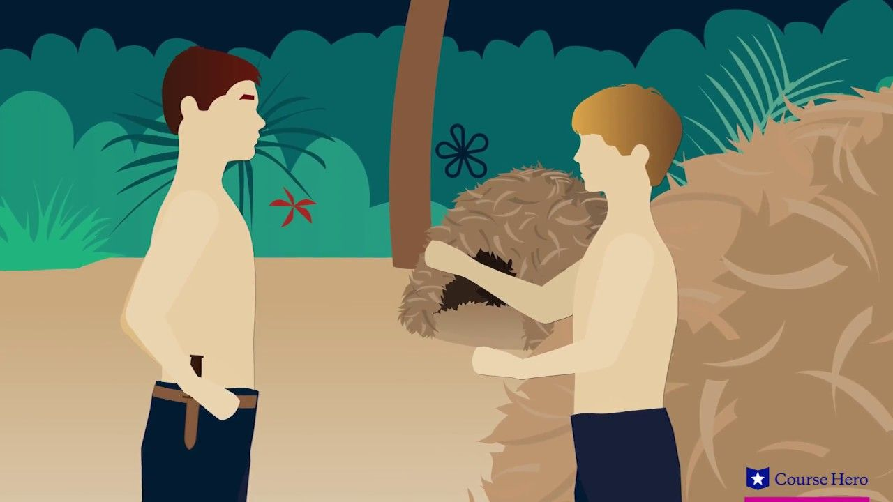 Lord Of The Flies Chapter 7 Summary With Images Lord Of The