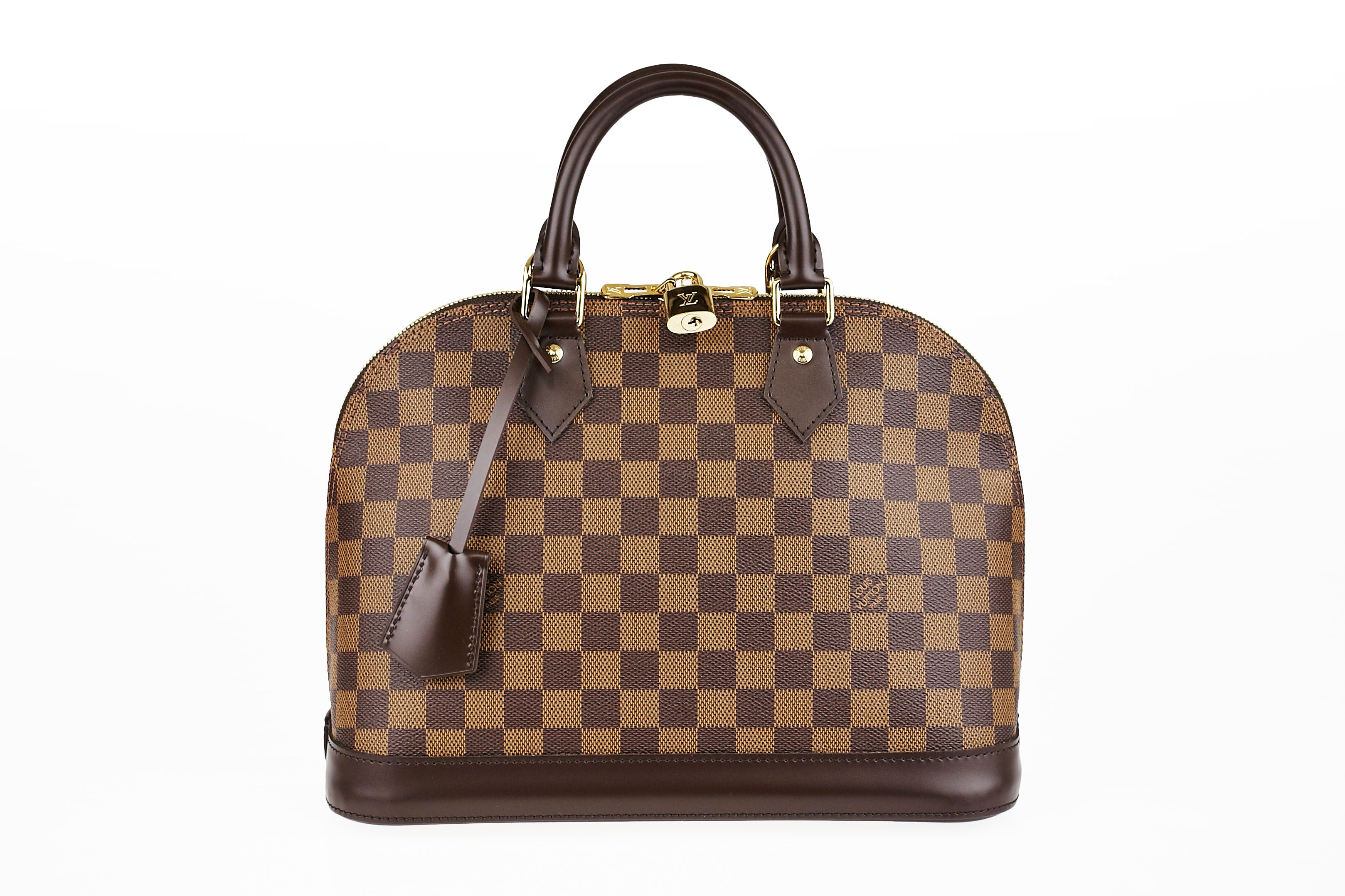 6d843cfbdac7 Win this Louis Vuitton Damier Canvas Alma PM Bag - Yoogi s Closet ...