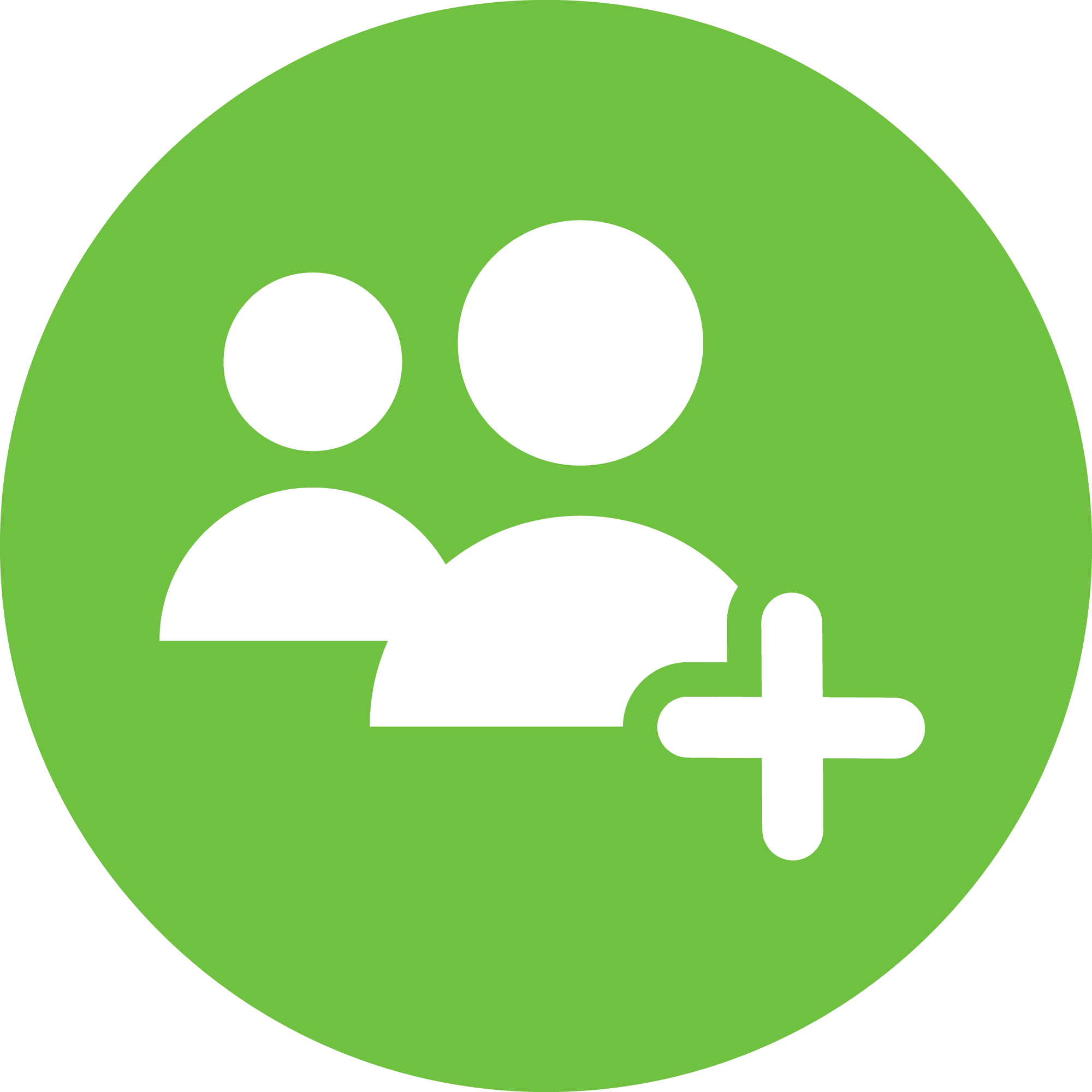 The Friend Icon Represents Adding More People To Your Life For Collaboration And Comfort Motivation Relationship Representation