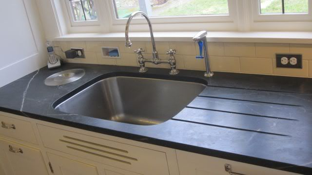 Sink W/Runnels U0026 Built In Compost Bin And Water Filter And Built In