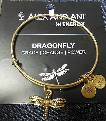 Alex Ani Bracelet Dragonfly Rafealian Gold Nwt Card Http