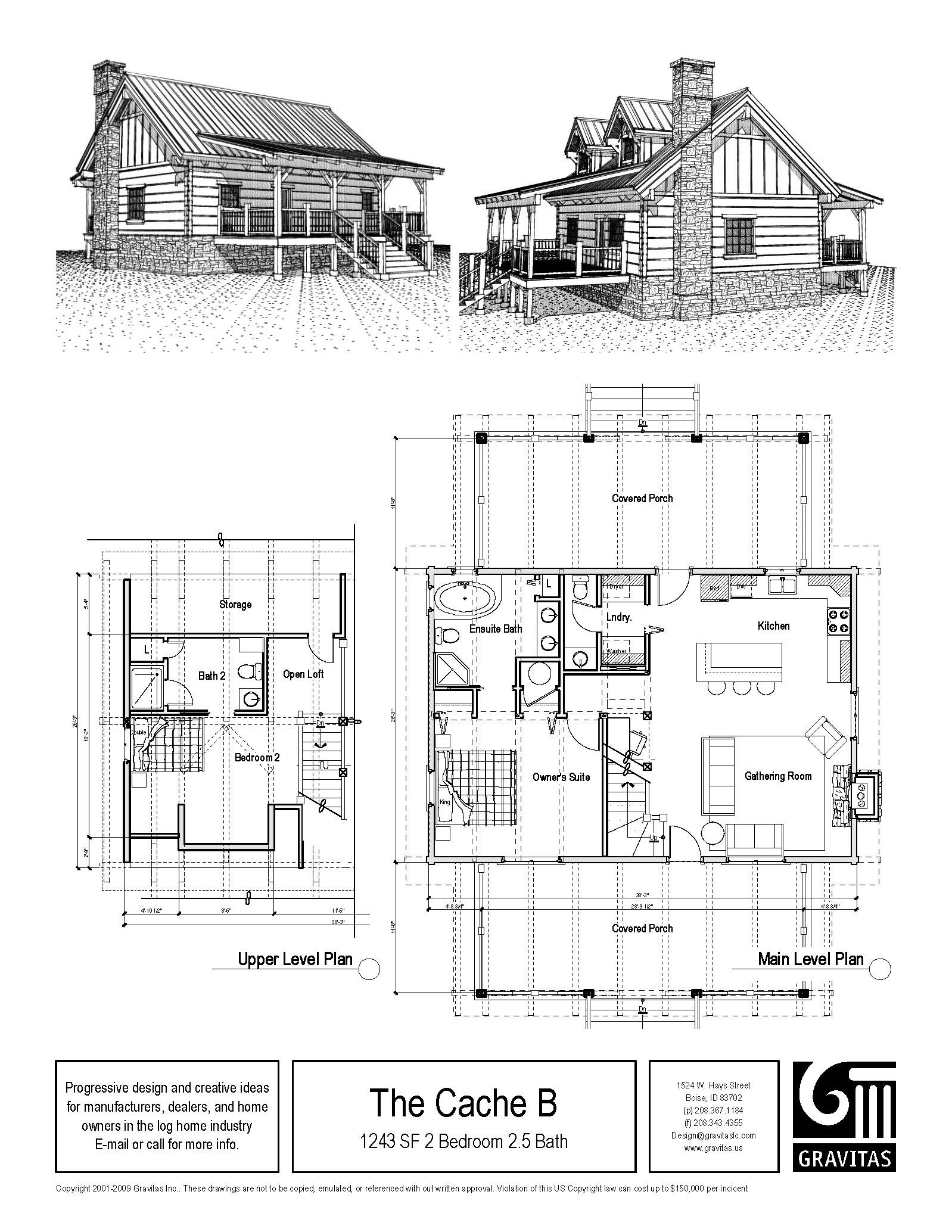 Small 3 Bedroom Log Cabin Plans Cabin Plans With Loft Small Cabin Plans Floor Plans