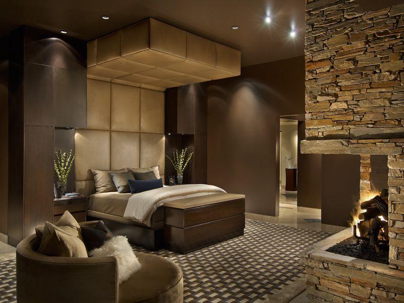 Janet Brooks Design ~ modern master bedroom