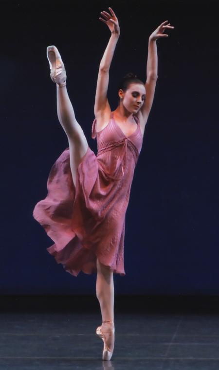 1e6af564fb29 New York City Ballet's Tiler Peck in Jerome Robbins' Other Dances. Photo:  Paul Kolnik.