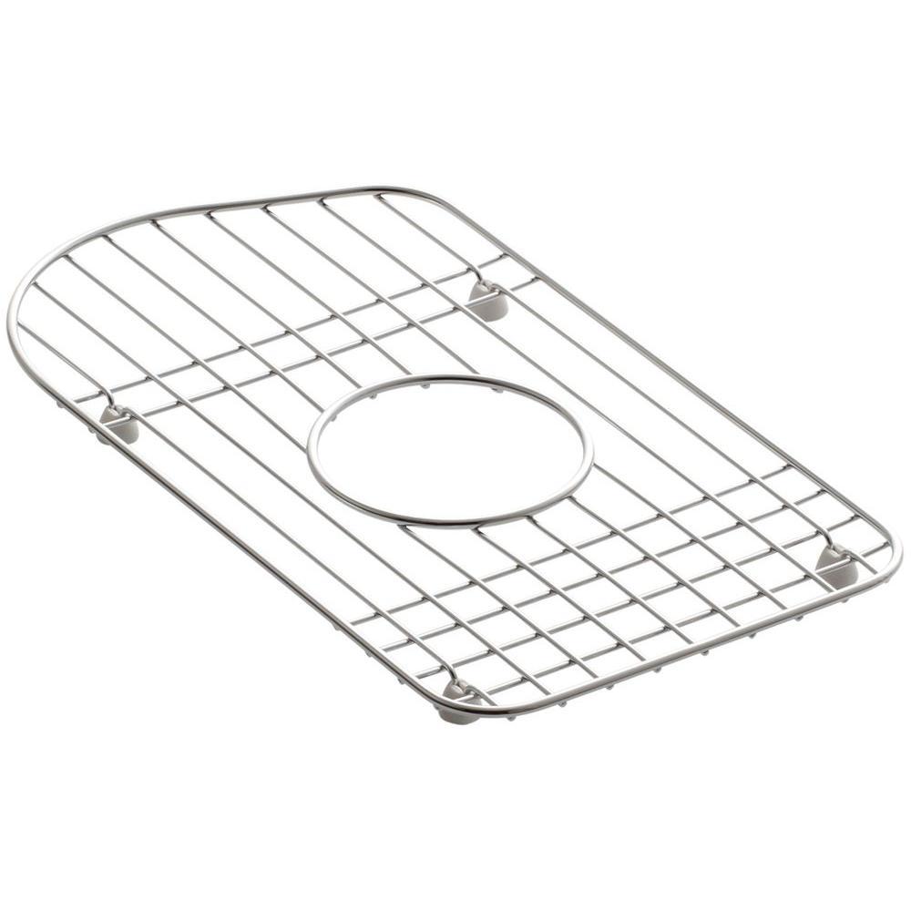 Kohler Staccato 15 In X 8 7 16 In Bottom Sink Basin Rack In