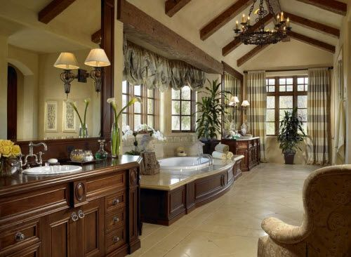 Bathroom From A Mansion In Colorado. Love!
