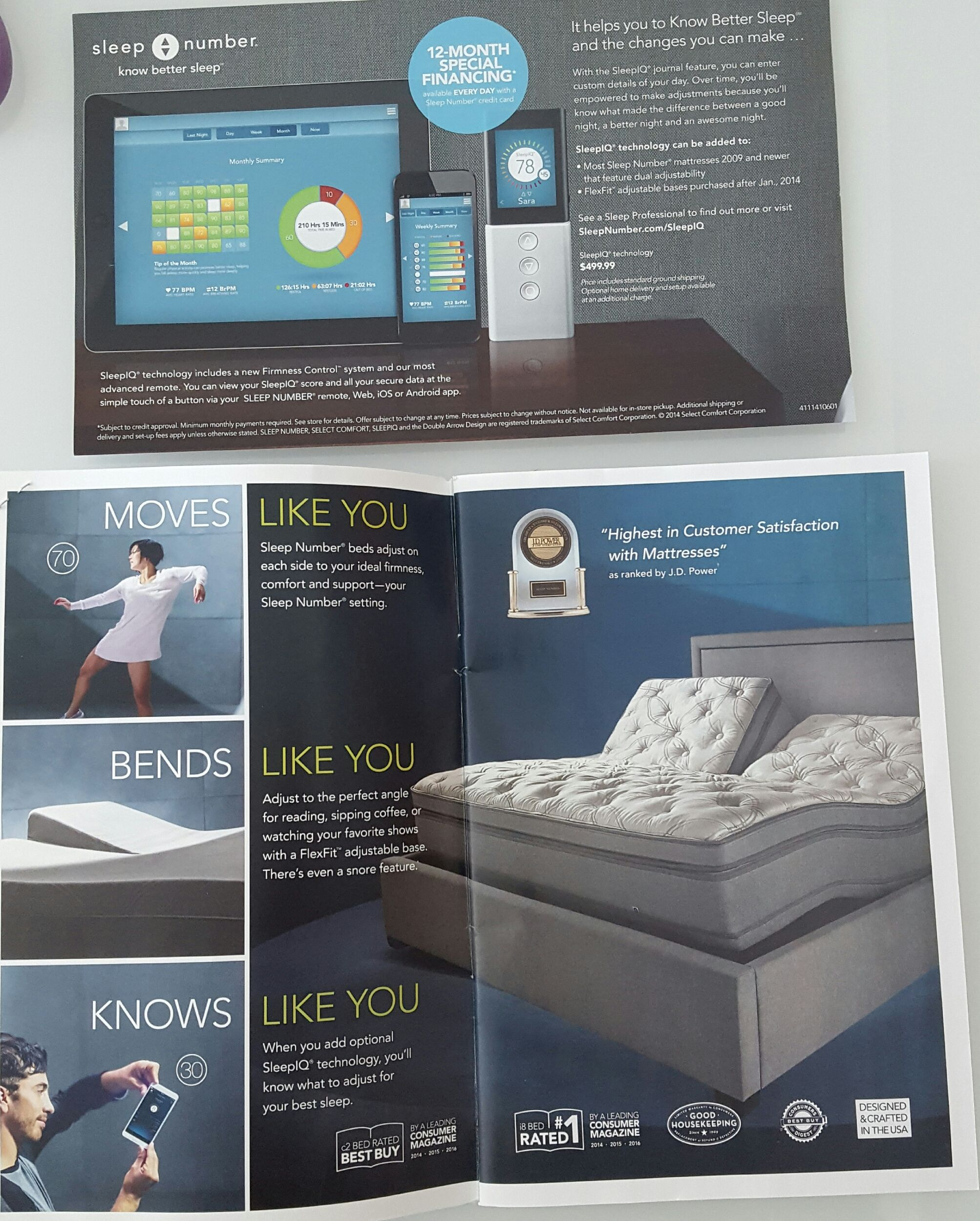 sleep number bed with sleep iq technology track how you sleep and